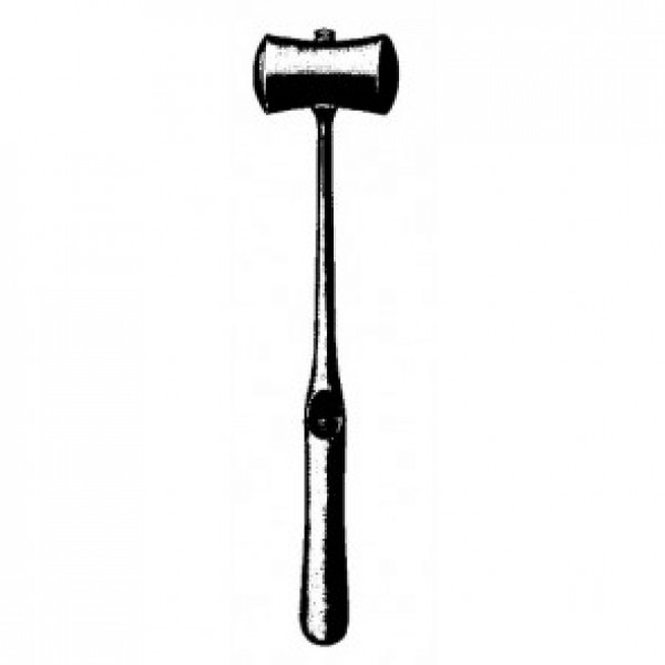 Williger Bone Hammer Solid, With Interchangeable Ferrozell Jaws
