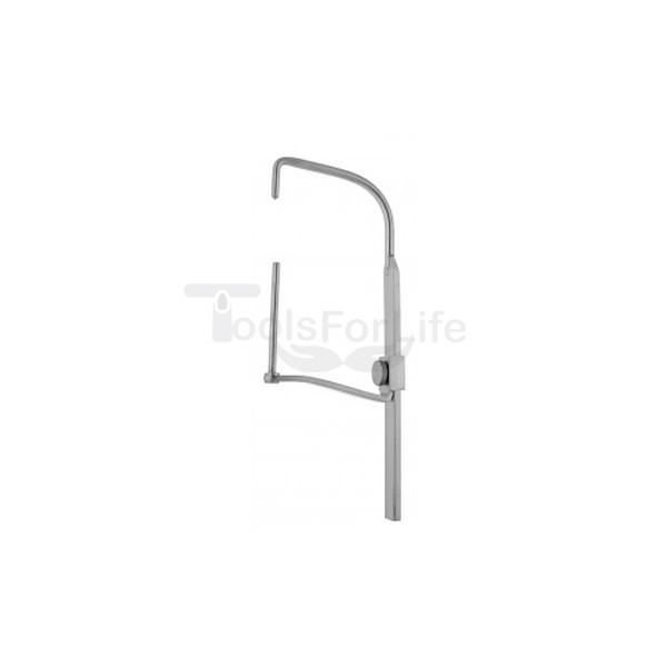 Bar with hook and sliding drill sleeve ø 3.5 mm, 80 mm long