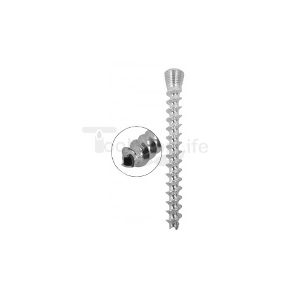 Cannulated Cancellous Safety Lock (LCP) Screw 5.0mm Full Threads