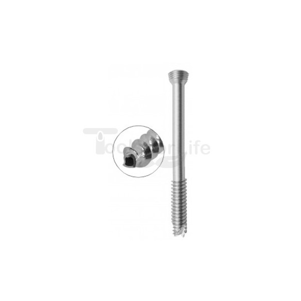 Cannulated Cancellous Safety Lock (LCP) Screw 5.0mm 16mm Threads